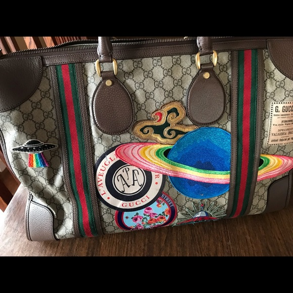 5df07ad7f2c3 Gucci Bags | Courrier Soft Gg Supreme Duffle Bag | Poshmark